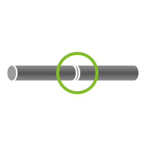 Rohrverlängerung (2 Rohre)